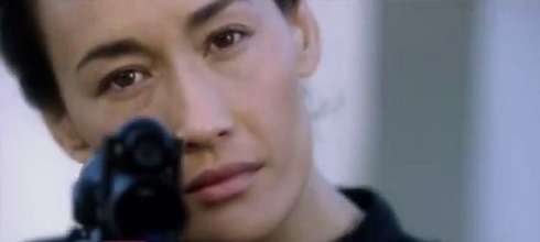 Maggie Q as Nikita, from the CW TV series