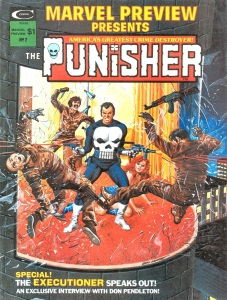 Cover for Marvel Preview Presents #2: The Punisher, art by Gray Morrow