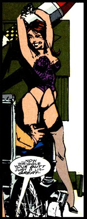 Mercy Mayrock, the villainess from The Shadow