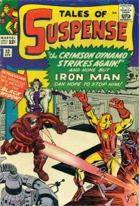 Cover of Tales of Suspense 52, first appearance of Black Widow