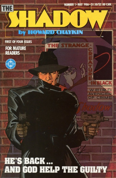 Cover to the Shadow miniseries #1 by Howard Chaykin