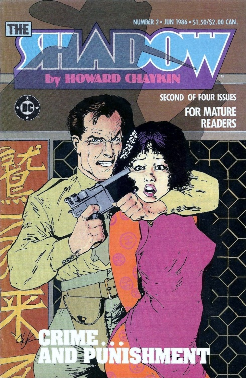 Cover to the Shadow miniseries #2 by Howard Chaykin