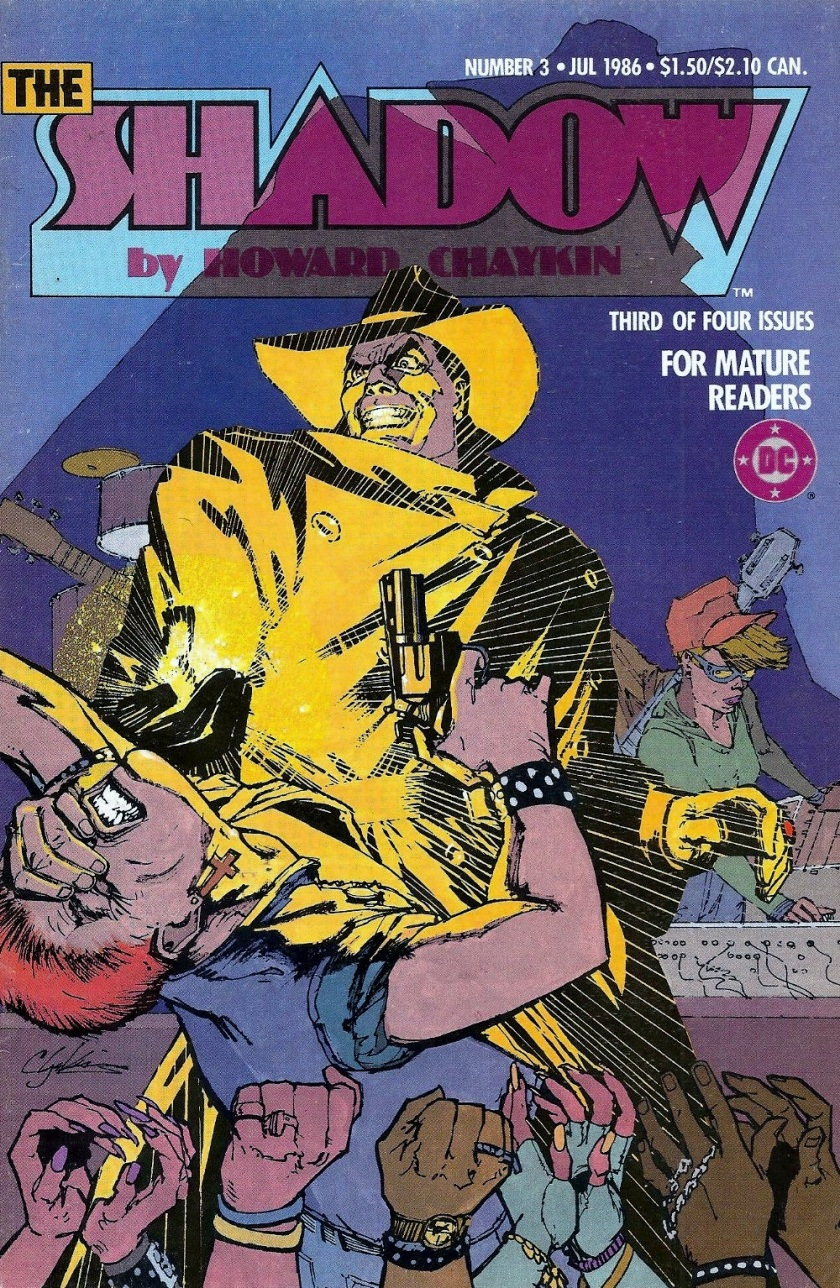 Cover to the Shadow miniseries #3 by Howard Chaykin