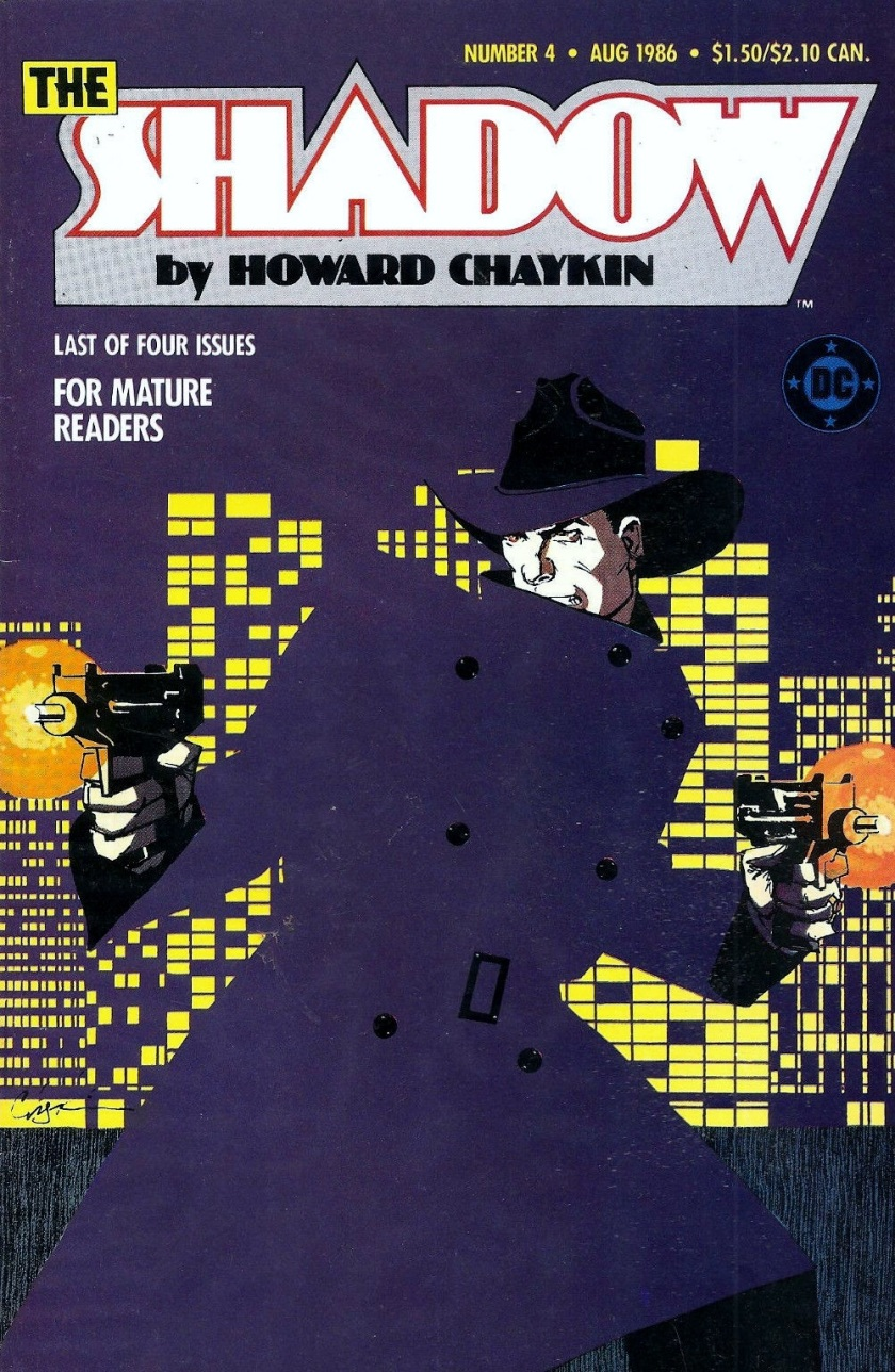 Cover to the Shadow miniseries #4 by Howard Chaykin
