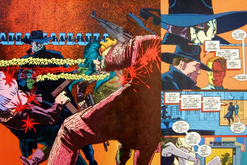 Comic book art from The Shadow: Blood and Judgment