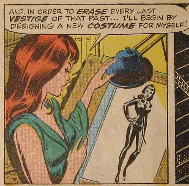 Natasha Romanoff designs a new Black Widow costume