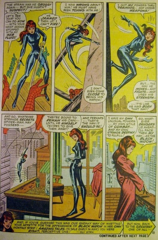 Black Widow considers her future career