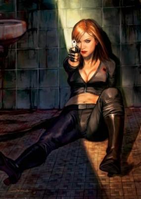 Black Widow injured