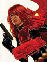 Black Widow color art by Steve Epting
