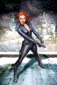 Black Widow painted cover