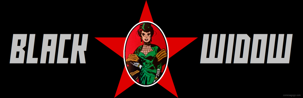 First appearance of Black Widow with CCCP star