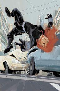 Black Widow falling by Phil Noto