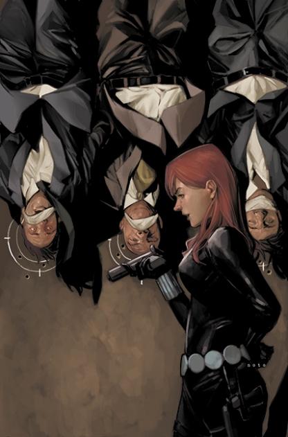Black Widow interrogation by Phil Noto