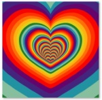 Animated Psychedelic Heart