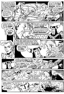 Johnny Nemo black & white story #2