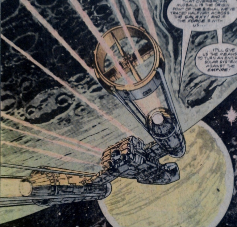 Y-wing fighter in Marvel Comics Star Wars