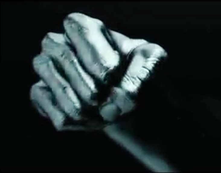 The Girl with the Dragon Tattoo - Fist from Title Sequence